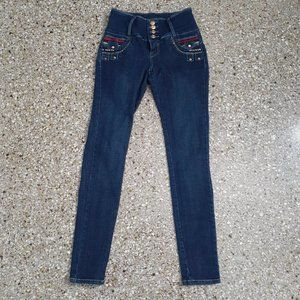 ELLA JEANS Sexy High Rise Colombian Skinny Jeans